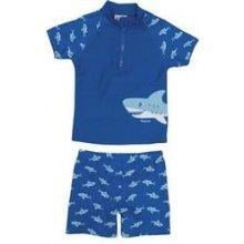 Plavky koupací set s UV ochranou Žralok