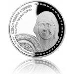 Česká mincovna Stříbrná mince České tenisové legendy Martina Navrátilová proof 29 g
