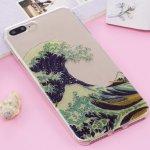 327a5ad2c Pouzdro AppleKing ochranné plastové Apple iPhone 7 Plus / 8 Plus - Velká  vlna u pobřeží