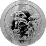 America the Beautiful Stříbrná investiční mince Illinois 5 Oz 2016