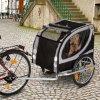 Vozík za kolo No Limit Doggy Liner Deluxe - D 148 x Š 90 x V 88 cm - do 50 kg