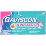 Gaviscon Duo Efekt žvýkací tablety por.tbl.mnd.48