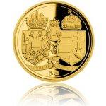 Česká mincovna Dukát Vznik ČSR Washingtonská deklarace proof 3,49 g