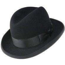 f2675a4b7 Luxusní plstěný klobouk černá Q9030 11745/14BC