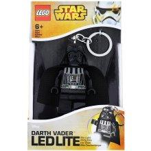 Přívěsek na klíče LEGO Star Wars Darth Vader svítící figurka