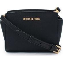 Michael Kors Selma Saffiano Leather Mini crossbody černá 44fe911a3c0