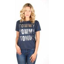 Tommy Hilfiger dámské modré tričko PRE 25907d3f21