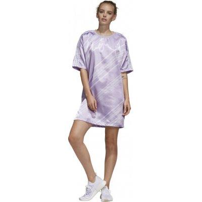 Adidas Originals šaty Trefoil dress fialová