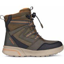Geox Chlapecké zimní boty Sveggen - hnědé 68a9686cb5