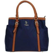 U.S Polo Assn. BEUHU0098WI Handbag Women BLUE/BROWN modrá