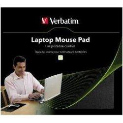 Podložky pod myš Podložky pod myš Podložka pod myš, čierna, 230 x 190 mm, 5 mm, Verbatim, k notebooku, pre laserové aj optické myši