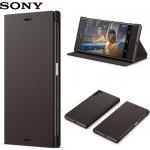 Pouzdro SBC22 Sony Style Cover Flip Xperia X černé