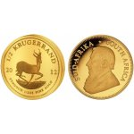 Krugerrand The South African Mint Company Zlatá mince 1 2 Oz
