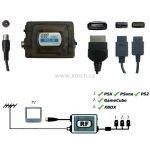 Xtech RF UNIT modulátor 3in1 PS2/XBOX/NGC