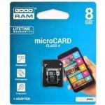 Goodram microSDHC 8GB Class 4 M40A-0080R11