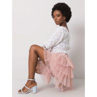 OCH Bella tylová sukně růžová