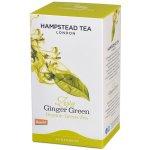Hampstead BIO zelený čaj se zázvorem a citrónovou trávou Tea London 20 ks