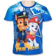 Setino Chlapecké tričko s krátkým rukávem Tlapková patrola modré