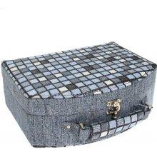 JKBox Cube Blue SP290-A13 šperkovnice