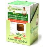 Agáthy (Agafji) Medově-rostlinný vlasový komplex, Posílení a růst 7 x 5 ml