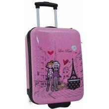Madisson dětský kufr Paris 2W SX F55018-47-04 růžová