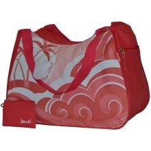 Benzi plážová taška BZ 4468 RED
