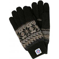 0113684829a Pletené prstové rukavice ICEwear Thinsulate - černé
