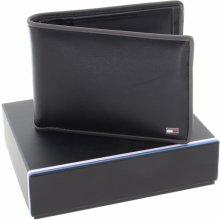 Tommy Hilfiger pánská kožená peněženka black grey AM0AM03656 901 632 c561e6ce7f
