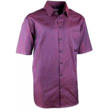 Aramgad elegantní bordó košile rovná regular fit 40340 582121a06d
