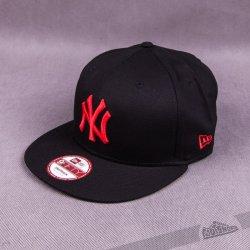New Era Seasonal Basic New York Yankees Black Red Snapback černá   červená    černá 20a0858eb01