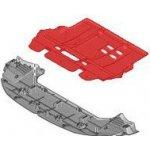 Ochranný kryt pod motor pro Citroen C4, C4 Picasso, Berlingo, Peugeot Partner (7013CT, 7013EC, 3454344, RP150517)