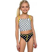 Lambadove plavky pro dívky Lorin Mo54 tečky