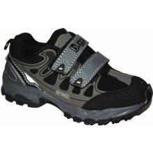 Bugga Chlapecká softshellová obuv šedá