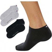 9e955a66e6 Tommy Hilfiger Kotníčkové ponožky 4 páry 2 ks šedé+2 ks černé