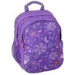 Batoh LEGO GIRL ERGO Purple Flowers 12115