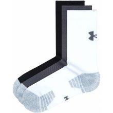 6822bf115fa Under Armour HeatGear ponožky 3 páry Černá Bílá Šedá pánské