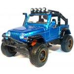 Maisto Jeep Wrangler Rubicon 4x4 Modrý 1:35