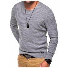 Pánský pletený lehký svetr E-089
