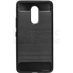 Pouzdro Forcell Carbon Case Lenovo K6 Note Černé 6852722900c