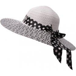 Dámský klobouk Stuha černobílý letní plážový alternativy - Heureka.cz c9334f376e