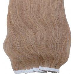 Zlatavé blond vlasy k prodloužení - Tape in REMY proužky 990d730867