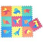 DINO Wiky Měkké puzzle bloky 30 cm