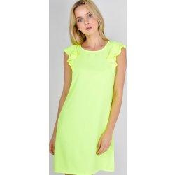 Basic šaty bez rukávů 85165 neonově žlutá od 459 Kč - Heureka.cz a1e78828fa