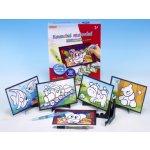 SMT Creatoys Kouzelné malování vodou 6 obrázků v krabici