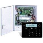 Ústředna s komunikátorem, trafem a černou dotykovou klávesnicí RPKELPB0000A se čtečkou