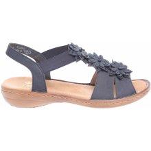 64a77076e7 Rieker dámské sandály 608S5-14 blau