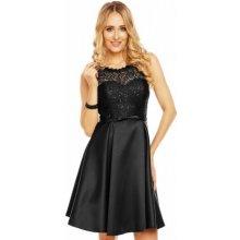 0e9672873ec Charm s Paris dámské společenské šaty bez rukávů Isabelle 9077 černá