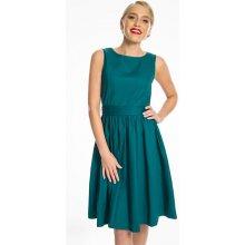 7d450a634e4e Lindy Bop dámské retro šaty Audrey tyrkysová