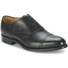Barker Šněrovací společenská obuv BURFORD Černá
