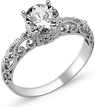 OLIVIE Stříbrný prsten OLIVIE s kubickým zirkonem 1272 a7e3fa99631